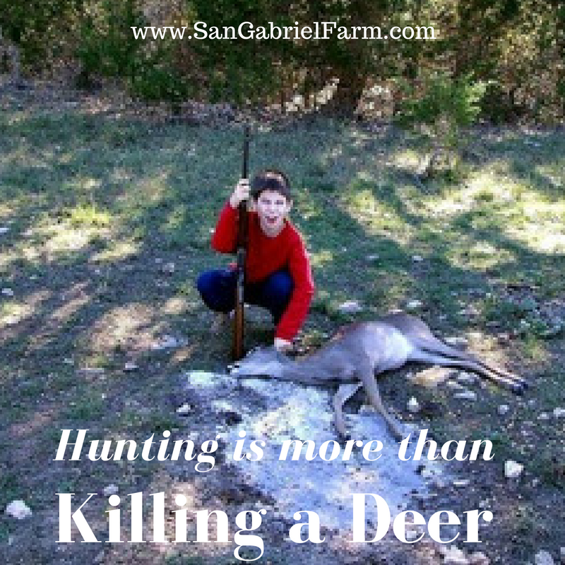 hunting is more than killing a deer