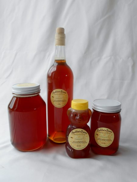 Bubba's Beez Raw Wildflower Honey