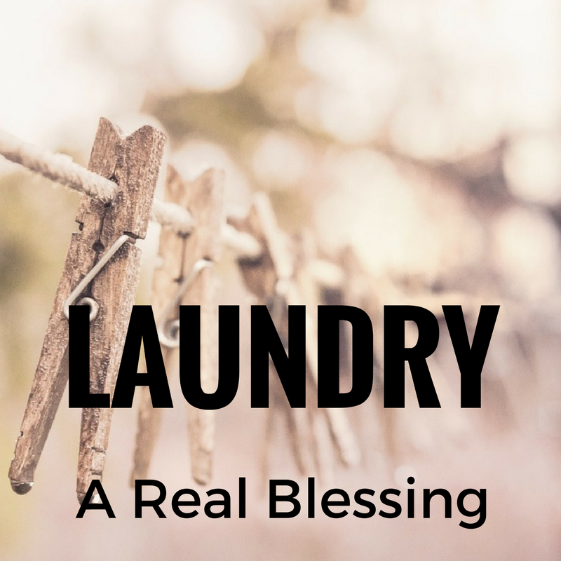 laundry...a real blessing