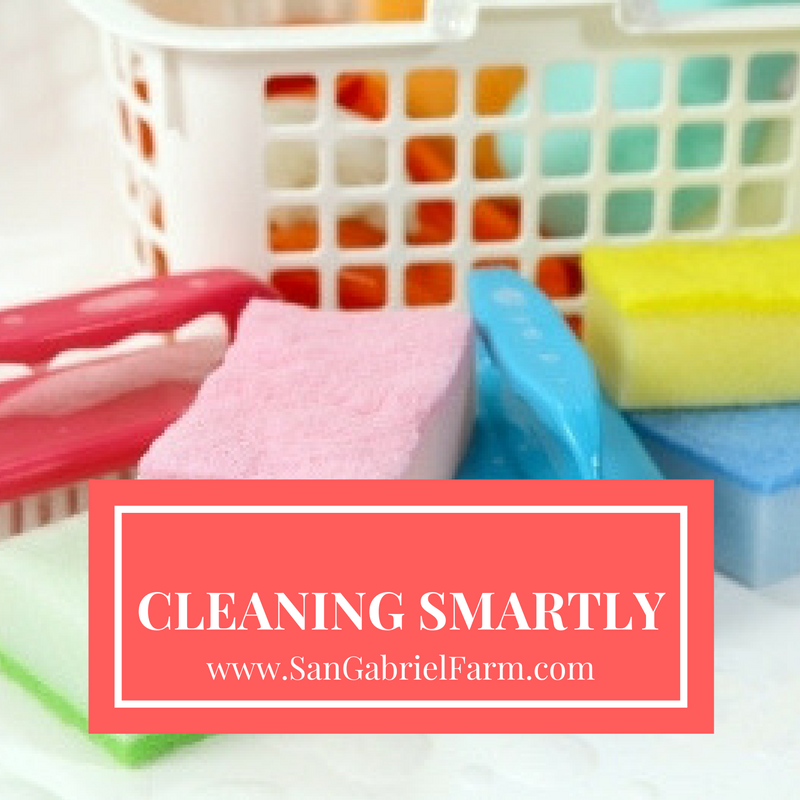 cleaning smartly