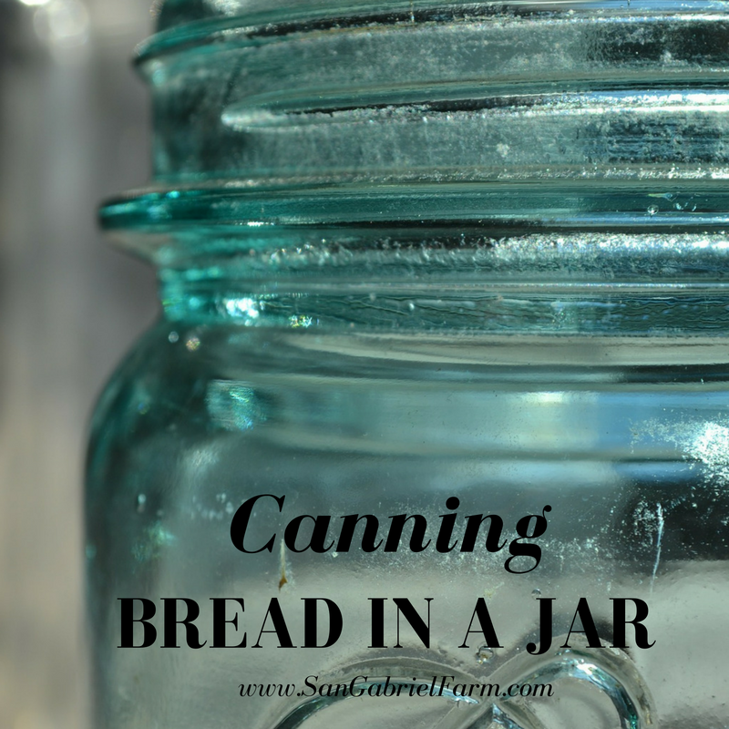 bread in a jar