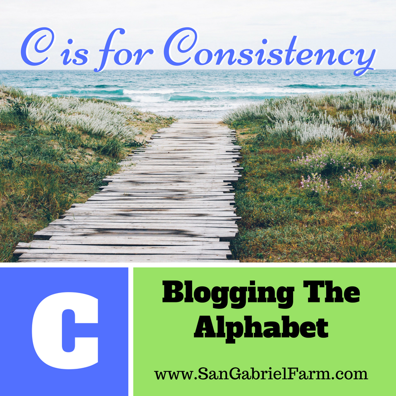 C is for Consistency