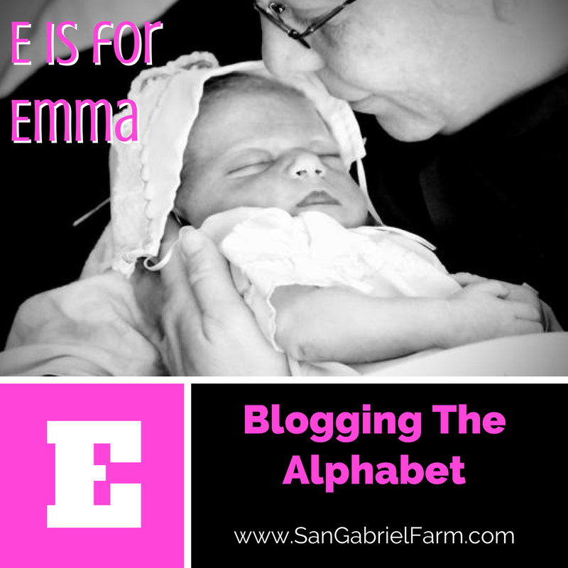E is for Emma