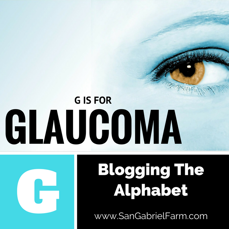 G IS FOR GLAUCOMA