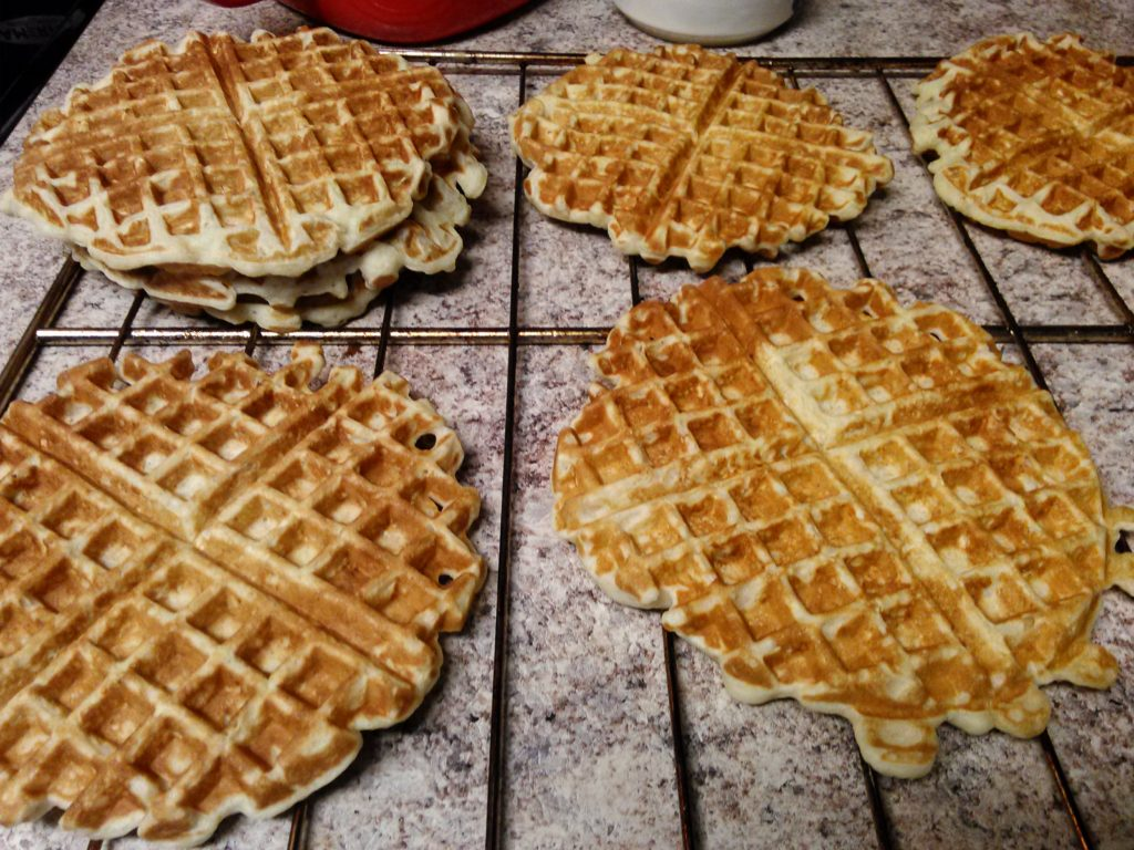 Honey & Oatmeal Waffles