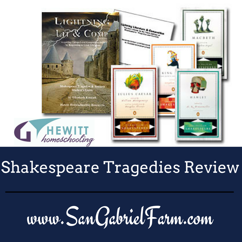 shakespeare tragedies