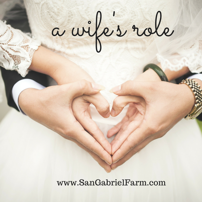 a wife's role