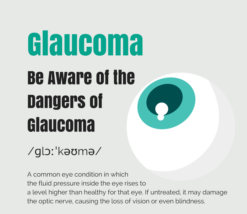 beware of the dangers of glaucoma